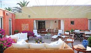 Patio Interno Villa Solenzana Luxury Experiences In Stintino
